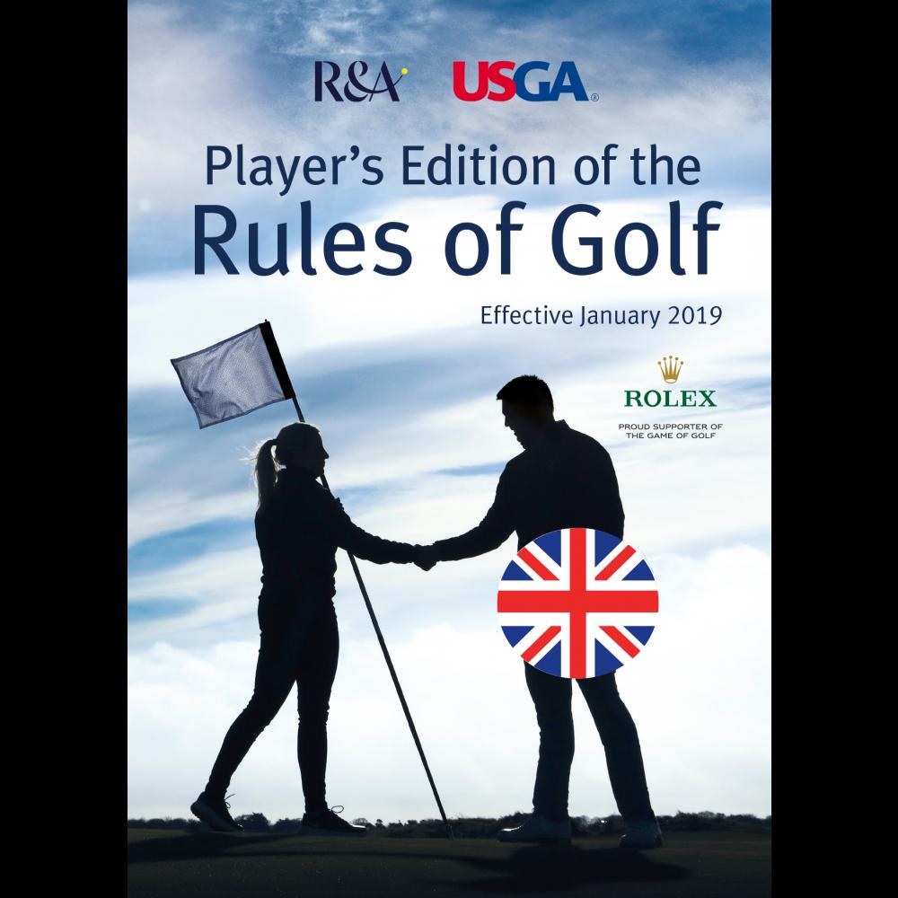 Rules of Golf 2019 - Player's Edition på engelsk. Pr. stk.