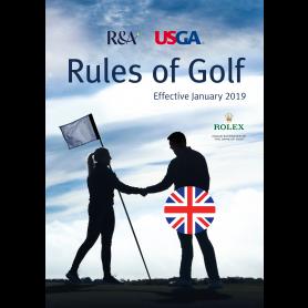 Rules of Golf 2019 - Full Rules på engelsk. Pr. stk.