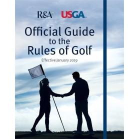 Official Guide to the Rules of Golf på engelsk. Pr. stk.