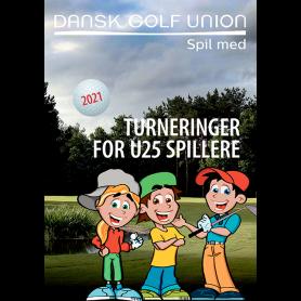 Folder: Turneringer for U25 Spillere - kuvert med 5 stk.
