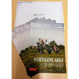 Hurtigere golf. Bedre golf. Kuvert m/ 25 stk.