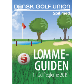 Lommeguiden til Golfreglerne 2019. Kasser á 25 stk.